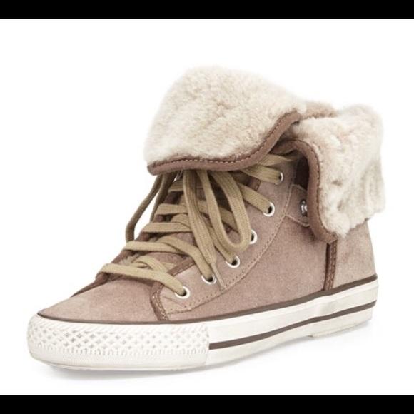 Ash Shoes | Ash Vanna Sherpa Lined High
